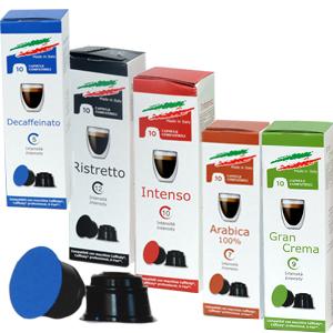 Capsule compatibili Caffitaly® - Caffè Dolce Vita