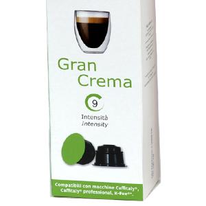 Gran Crema – Dolce Vita, compatible Caffitaly®