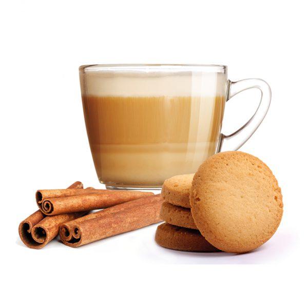 Cappuccino Biscuit et Cannelle compatible Nespresso* de 10 capsules