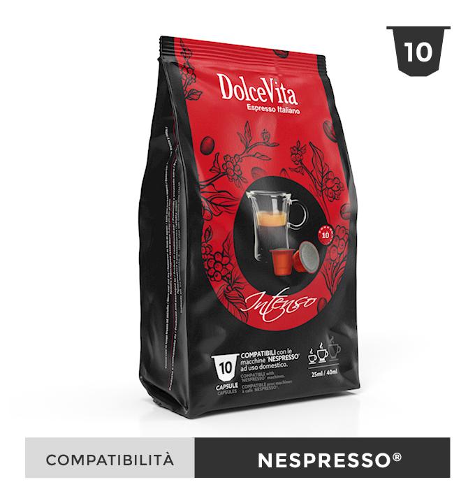 Intenso – Dolce Vita, compatible Nespresso