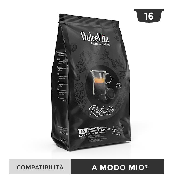 Ristretto – Dolce Vita, compatible  LAVAZZA MODO MIO®