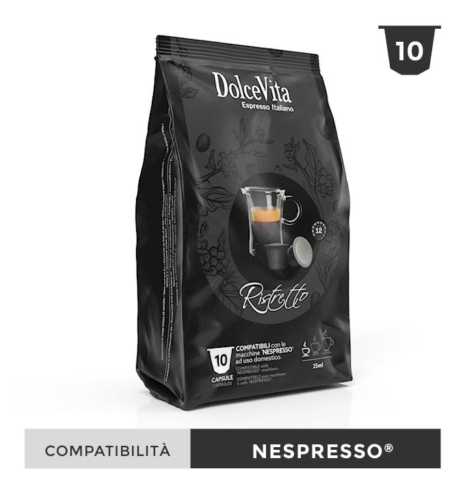 Ristretto – Dolce Vita, compatible Nespresso 10 Caps