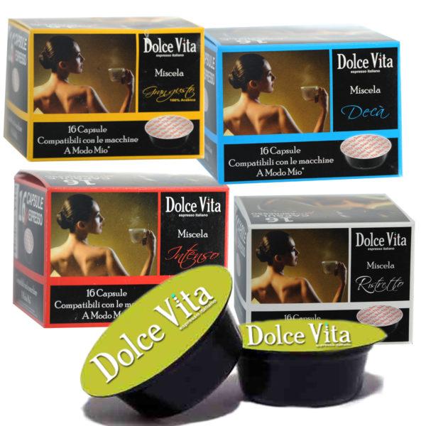 Dégustation  café Dolce Vita, compatible   LAVAZZA MODO MIO®