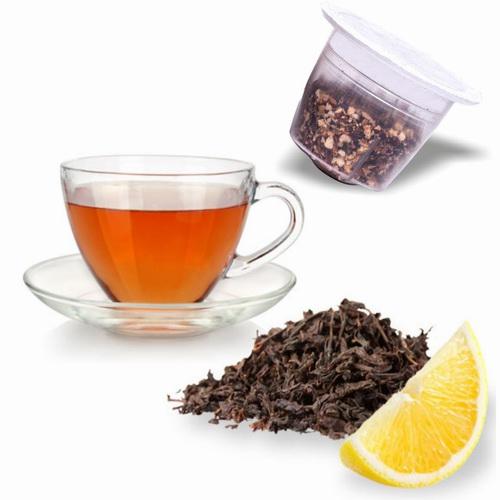 Relax ENGLISH BREAKFAST Thé Noir Citron compatible compatibles Nespresso®