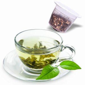 Thé Vert Touareg, capsules compatibles Nespresso