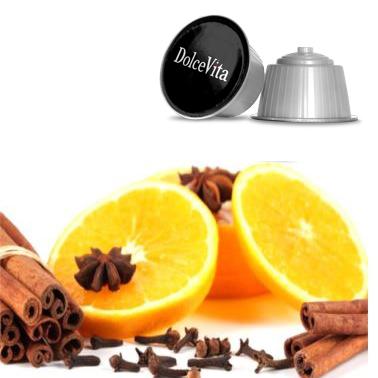 16x Infuso Arancia e Cannella compatibile Dolce Gusto®