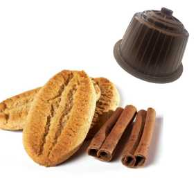 Cappuccino Biscuit et Cannelle compatible Dolce Gusto de 16 capsules
